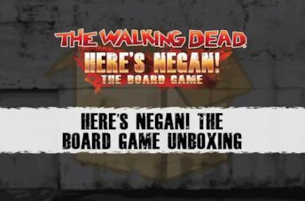 Here's Negan: tutto sul nuovo gioco da tavolo di The Walking Dead