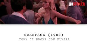 Scarface - Tony Montana e Elvira Hancock ballano nel club