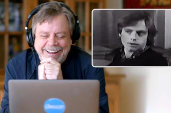 Star Wars, Mark Hamill reagisce alla sua prima audizione per una buona causa
