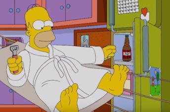 La sfrenata giornata di solitudine di Homer Simpson